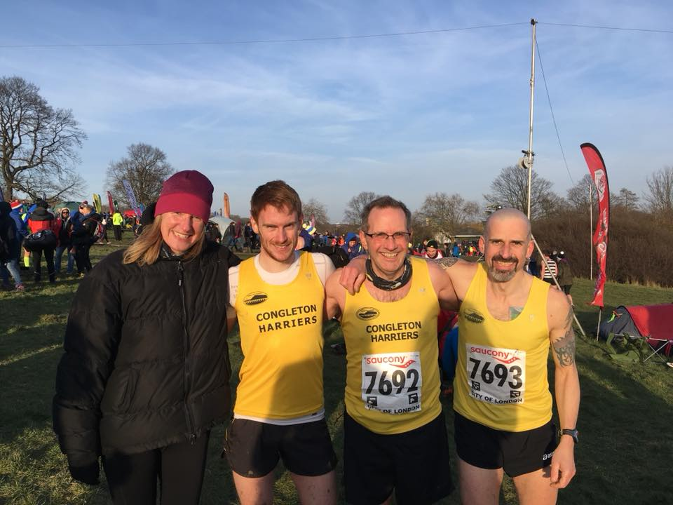 February 25th Press Report, covering the Knypersley 5 and National XC - Paul Birdsall